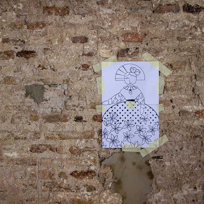 Curso de cerámica cuerda seca Sevilla